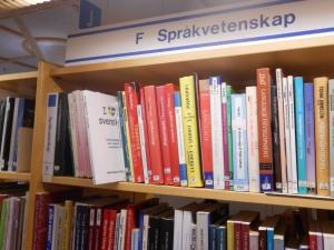 I love svenska på Umeå stadsbibliotek