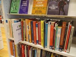 Boken på Umeå stadsbibliotek